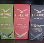 FreeBird Ginger & Lemon Ceylon Tea Leaves