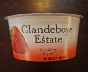 Clandeboye Strawberry Yoghurt