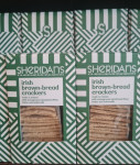 Sheridan's Irish brown bread crackers