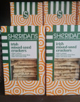 Sheridan's Irish Mixed seed crackers