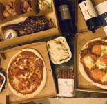 Corner Shop Pizza Van Meal Deal