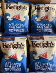 Keogh's Sea Salt and Irish Cider Vinegar Crisps