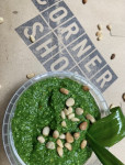 Comber Wild Garlic, Pine nut & Parmesan Pesto Dip