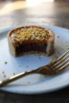 CA Smoked chocolate ganache and passionfruit tart